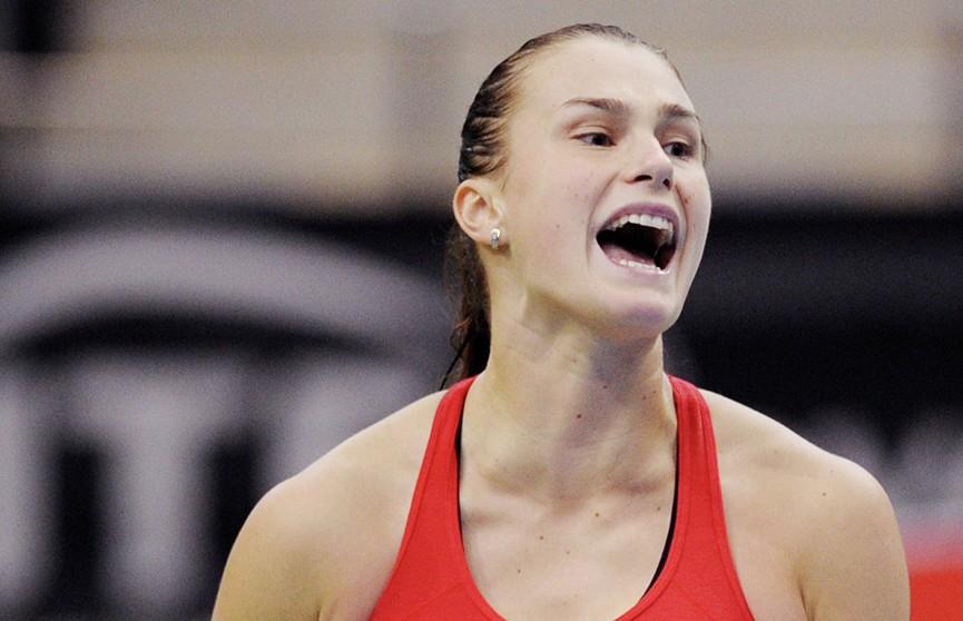 Арина Соболенко вышла в полуфинал теннисного турнира в Нью-Хейвене