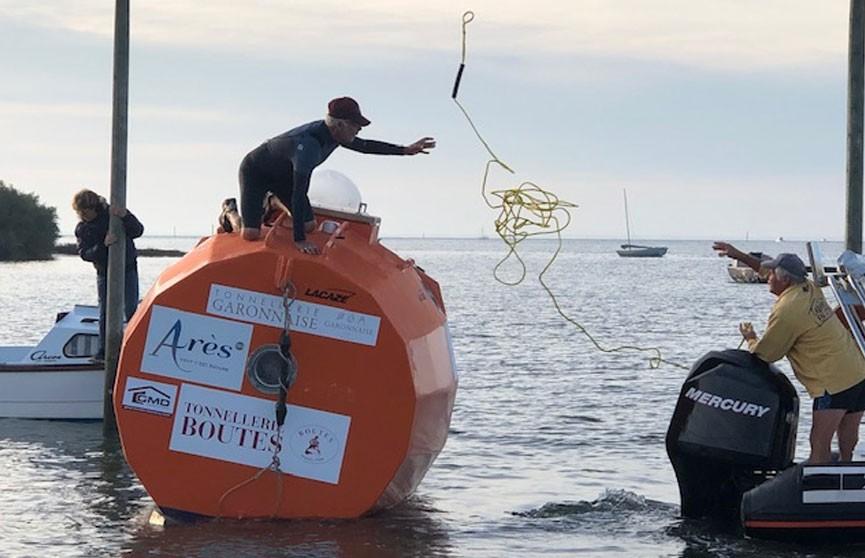 Французский пенсионер собрался пересечь Атлантику в деревянной бочке