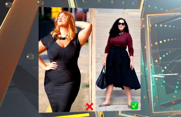 Балахоны не скроют лишний вес. 3 практических совета, как одеваться девушкам с пышными формами