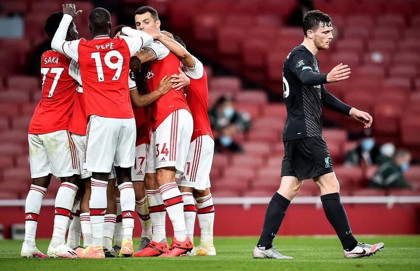 Чемпионат Англии по футболу: лондонский «Арсенал» обыграл «Ливерпуль»