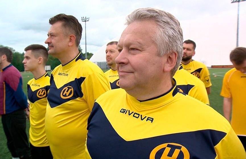 Команда ОНТ приняла участие в первом международном товарищеском турнире по футболу