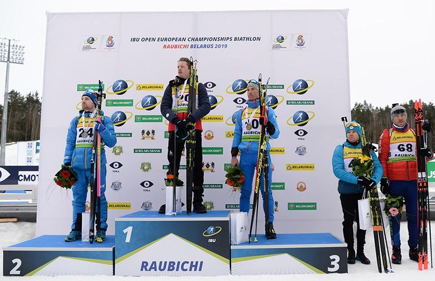 Белорусы остались без медалей в спринтерских гонках на ЧЕ по биатлону в Раубичах