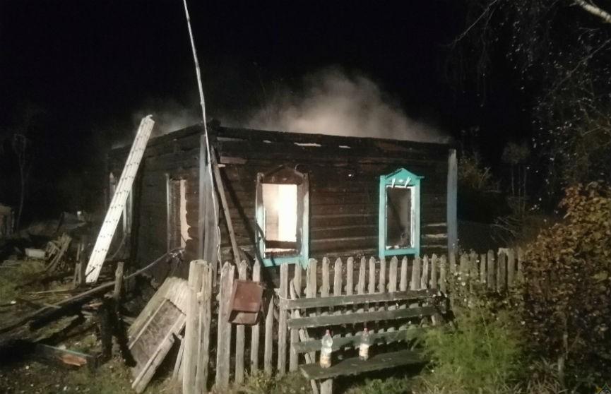 Пожар в Кличевском районе: погибла пенсионерка