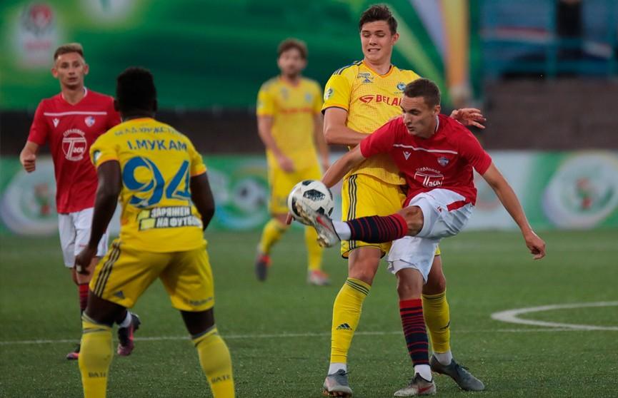 БАТЭ проиграл «Минску» в чемпионате Беларуси по футболу