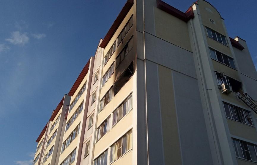 В Солигорске из-за короткого замыкания электросамоката сгорела квартира