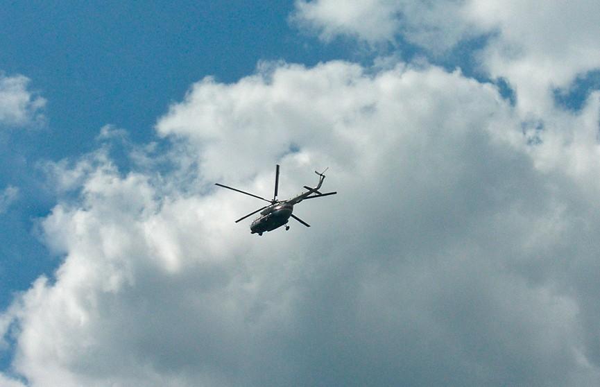 Кубок мира по вертолётному спорту проходит в Витебске