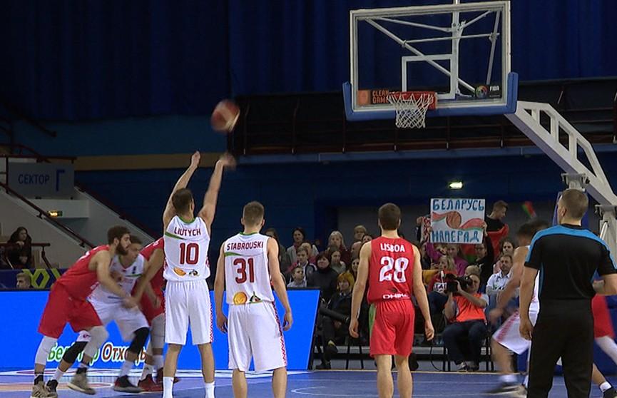 Сборная Беларуси по баскетболу одержала вторую победу в квалификации чемпионата мира