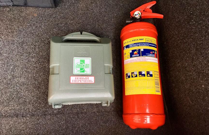 Аптечка и огнетушитель могут стать необязательными для прохождения техосмотра