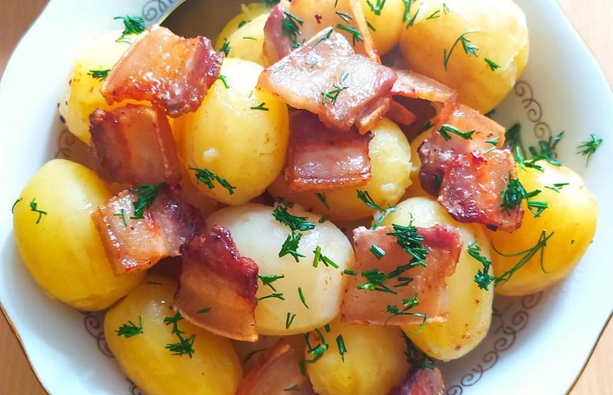 Молодой картофель с поджаркой – блюдо, которое тает во рту! Простой рецепт от телеведущего Дмитрия Рябова