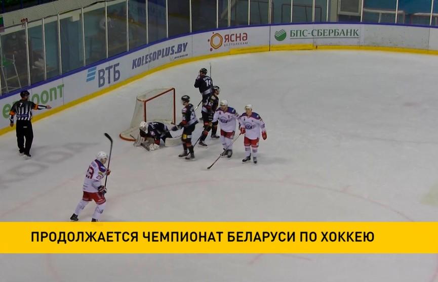 Чемпионат Беларуси по хоккею: солигорский «Шахтёр» сыграет с «Динамо-Молодечно»