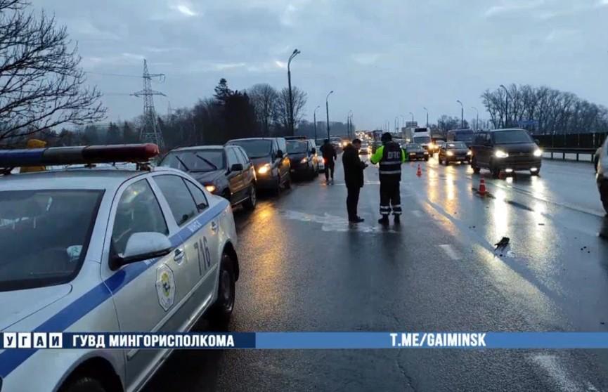 Смертельное ДТП на МКАД: погиб пешеход