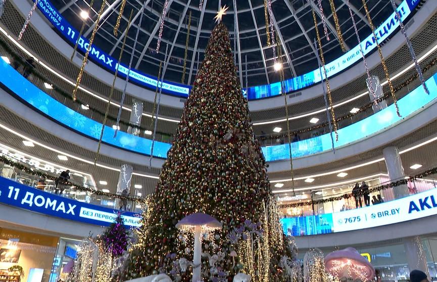 В «Дана Молл» установили праздничную елку. Увидеть ее должен каждый!