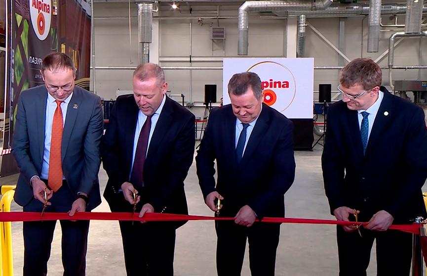 Новый завод по производству лакокрасочных покрытий открылся в Бресте