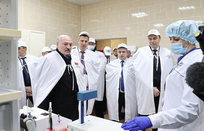 Лукашенко: мы вовремя взялись за молокоперерабатывающую промышленность в Беларуси, сейчас имеем эффект