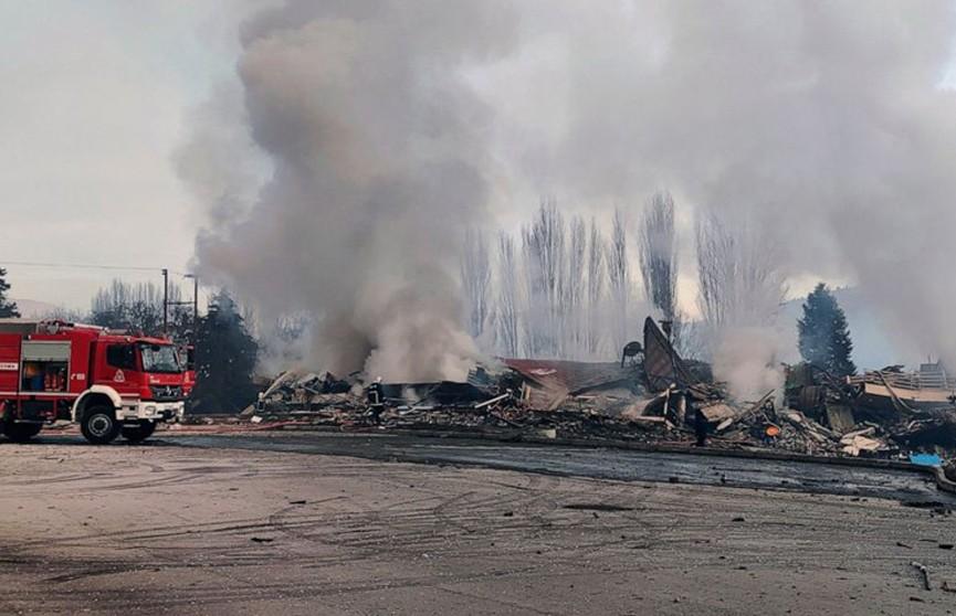 Небольшой отель разрушен в результате взрыва в Греции