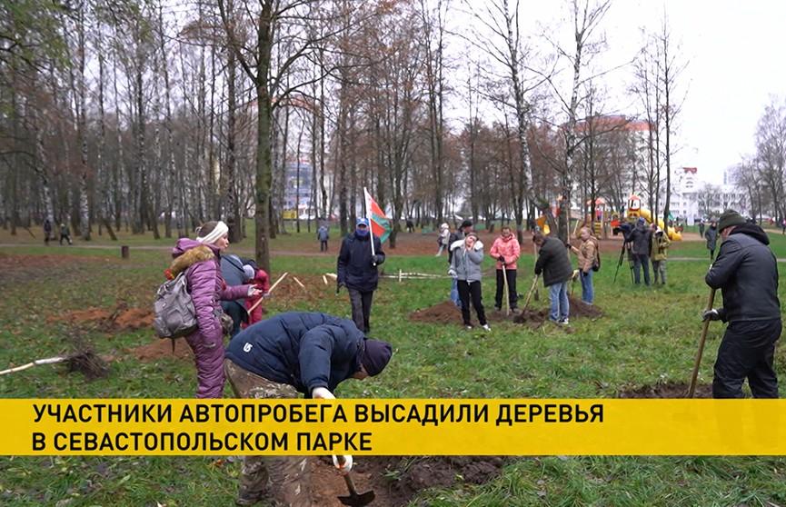 В Минске автопробег «За Беларусь» проходит в необычном формате