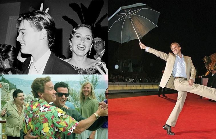 Как вам такое закулисье? 7 редких фотографий знаменитостей, на которых они дурачатся