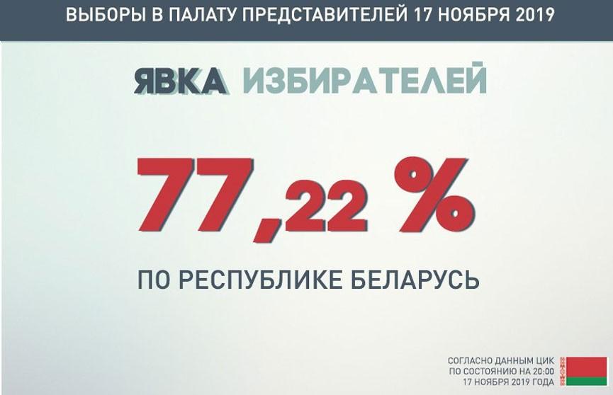 Парламентские выборы-2019: явка избирателей составила 77,22%