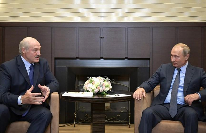 Лукашенко обсудил с Путиным  поставки «грязной» нефти