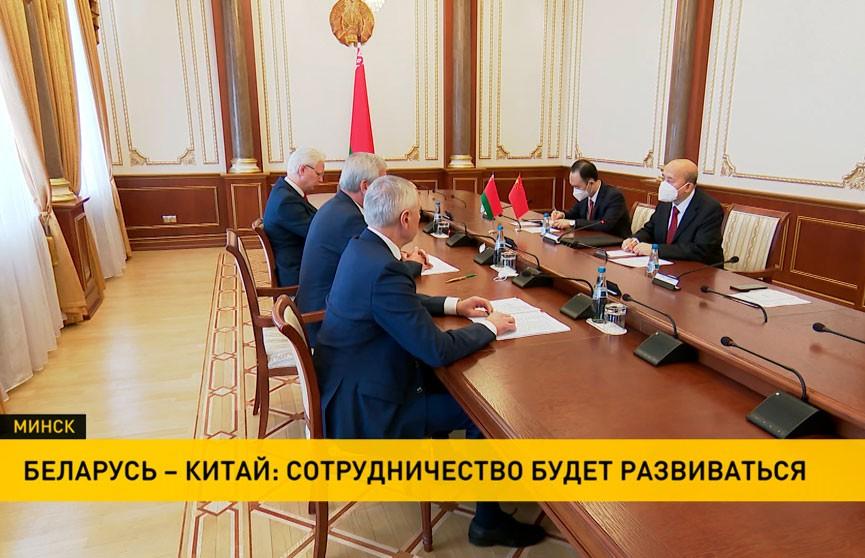 Спикер Палаты представителей встретился с послом Китая