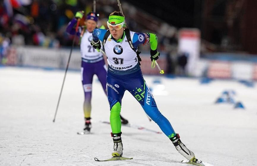 Алимбекова стала 4-й в гонке преследования на этапе КМ по биатлону в Контиолахти