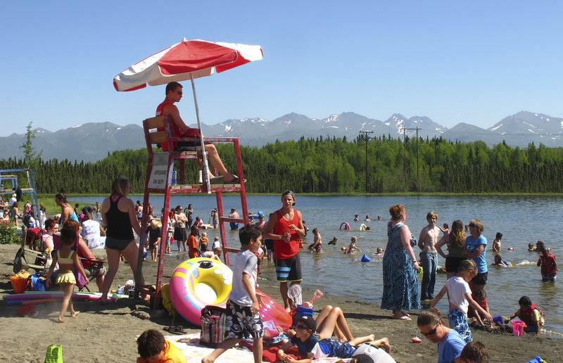Аномальная жара на Аляске: температура перевалила за 30°С