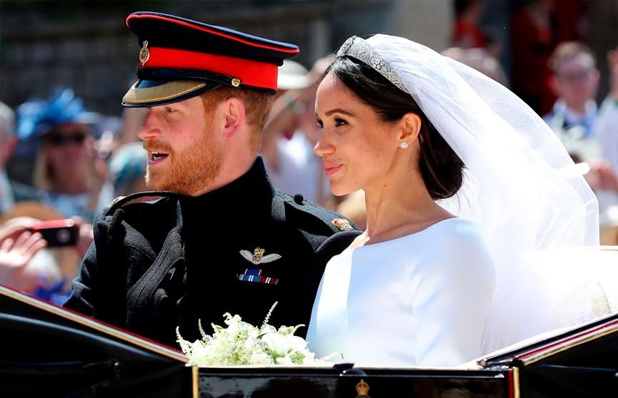 Меган Маркл и принц Гарри в годовщину свадьбы опубликовали трогательные фото с королевской церемонии