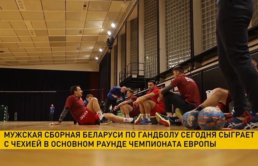 Мужская сборная Беларуси по гандболу сыграет с Чехией