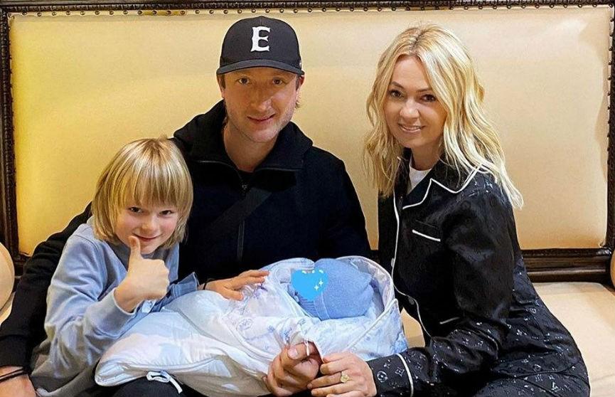 В семье Евгения Плющенко и Яны Рудковской пополнение – суррогатная мать родила сына