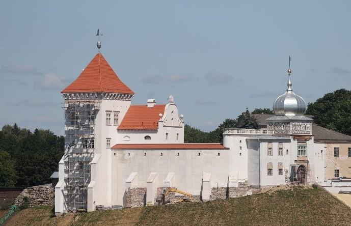 Масштабная реконструкция Старого замка проходит в Гродно