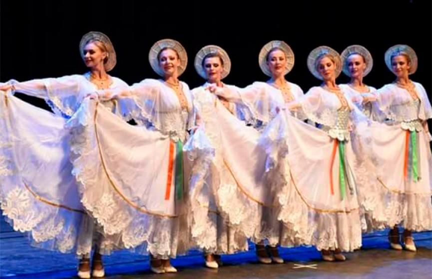 Государственный ансамбль танца Беларуси проводит гастроли в Сирии