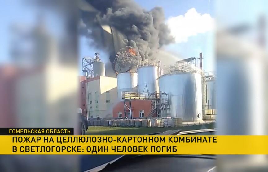 Один человек погиб при пожаре на Светлогорском ЦКК