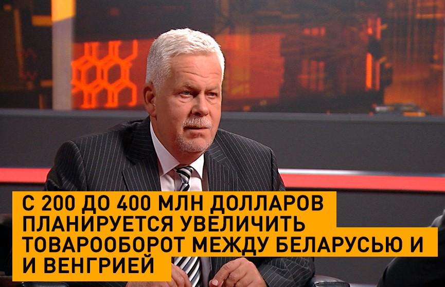 С 200 до 400 млн долларов планируется увеличить товарооборот между Беларусью и Венгрией
