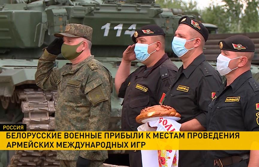 АрМИ 2020: белорусские военные прибыли на соревнования