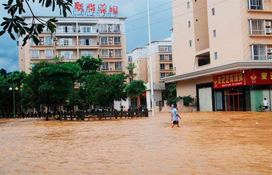 Наводнения на юге Китая: семь человек погибли
