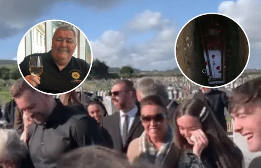 Покойник развеселил родственников на похоронах в Ирландии