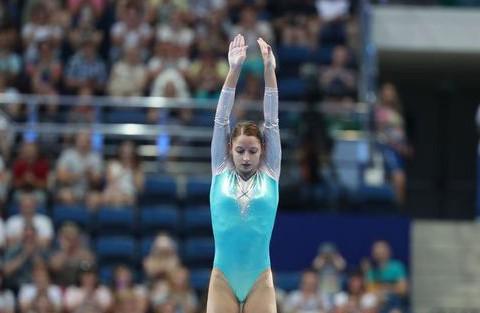 Анна Гончарова выиграла бронзу в прыжках на батуте на II Европейских играх