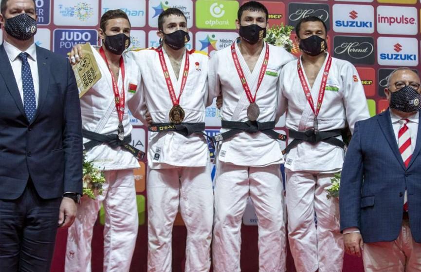 Дмитрий Миньков завоевал серебряную медаль престижного турнира по дзюдо в Израиле