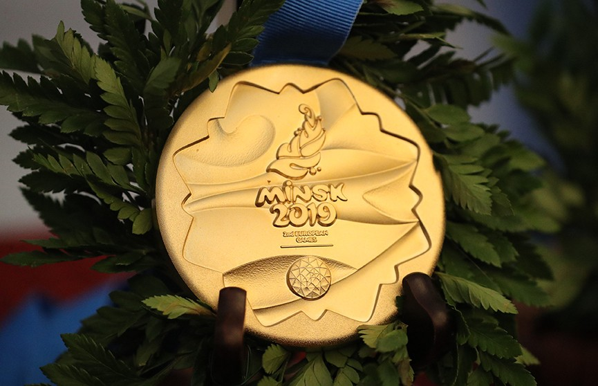 Медали II Европейских игр представили в Мирском замке