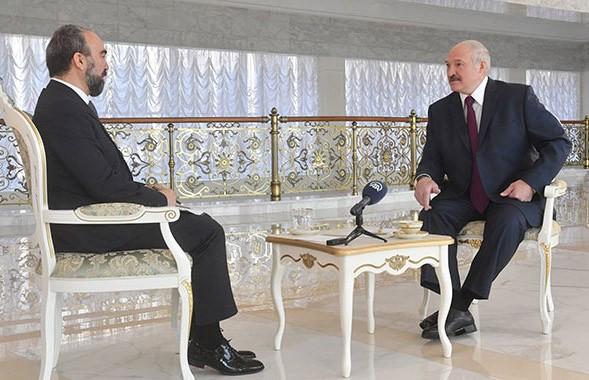 Александр Лукашенко дал интервью крупнейшему информационному агентству Турции «Анадолу»