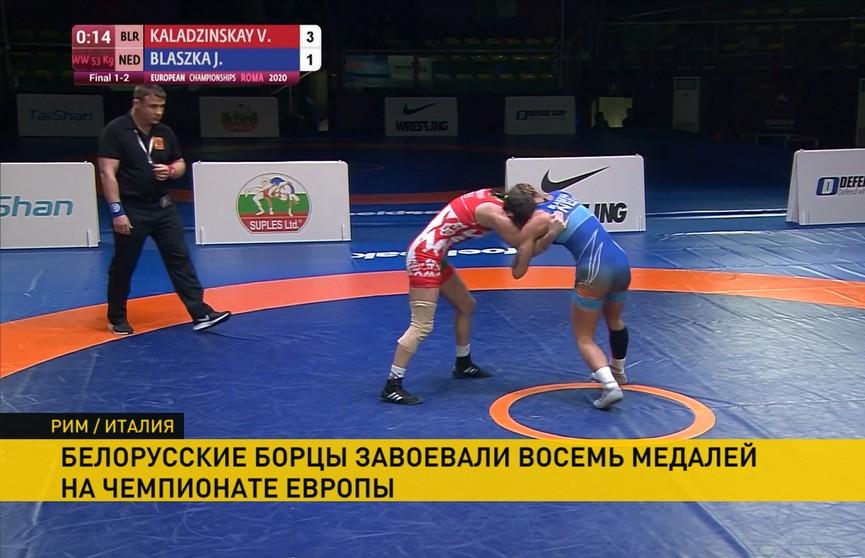 Александр Лукашенко поздравил белорусских борцов с успешным выступлением на чемпионате Европы в Риме