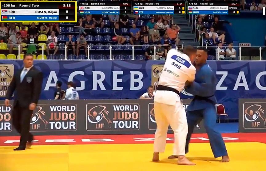 Даниэль Мукете завоевал золото на молодежном чемпионате Европы по дзюдо