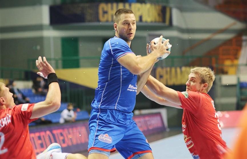 Гандболисты «Мешков Бреста» выиграли матч у «Гомеля»