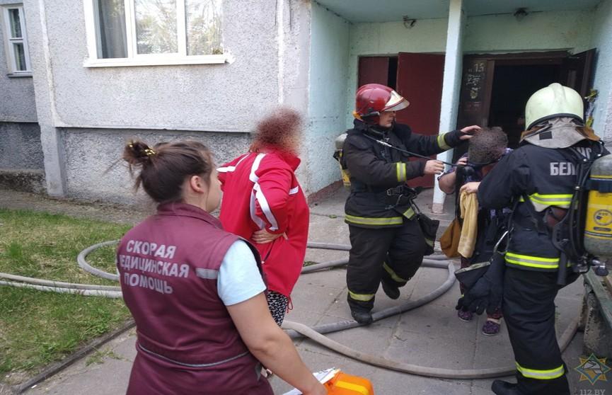 Две женщины спасены при пожаре в Пуховичском районе
