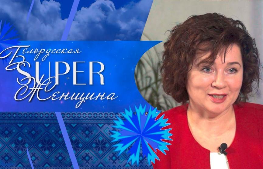 Директор Территориального центра социального обслуживания Снежана Мороз.  Проект «Белорусская SUPER-женщина»