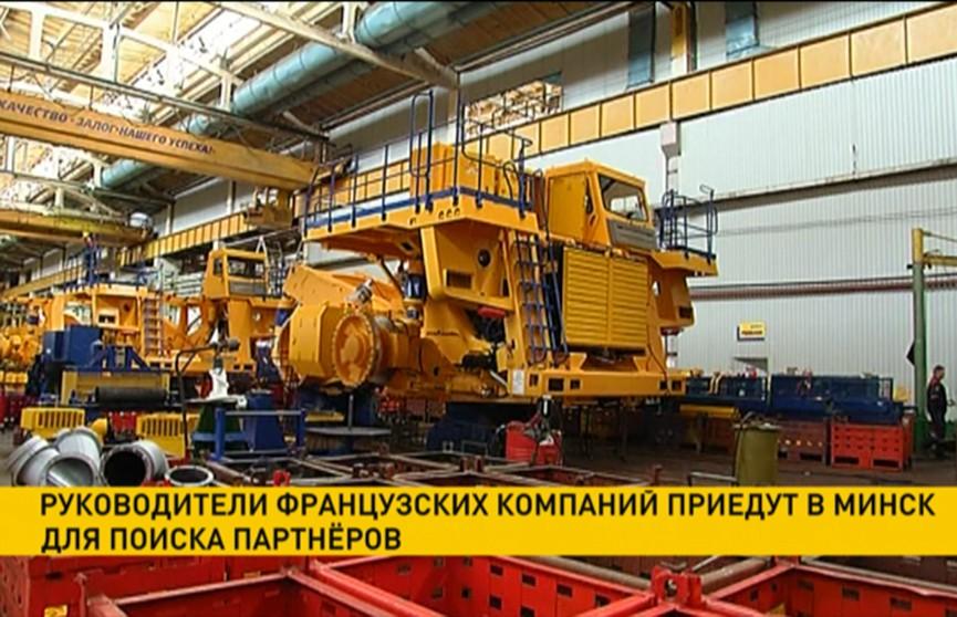 Руководители французских предприятий приедут в Минск для поиска партнёров
