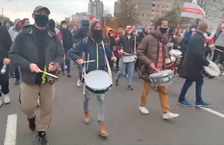Задержаны девять барабанщиков, которые регулярно участвовали в протестах