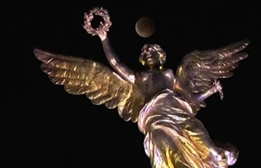 Лунное затмение в Беларуси смотрите сегодня в 00:31