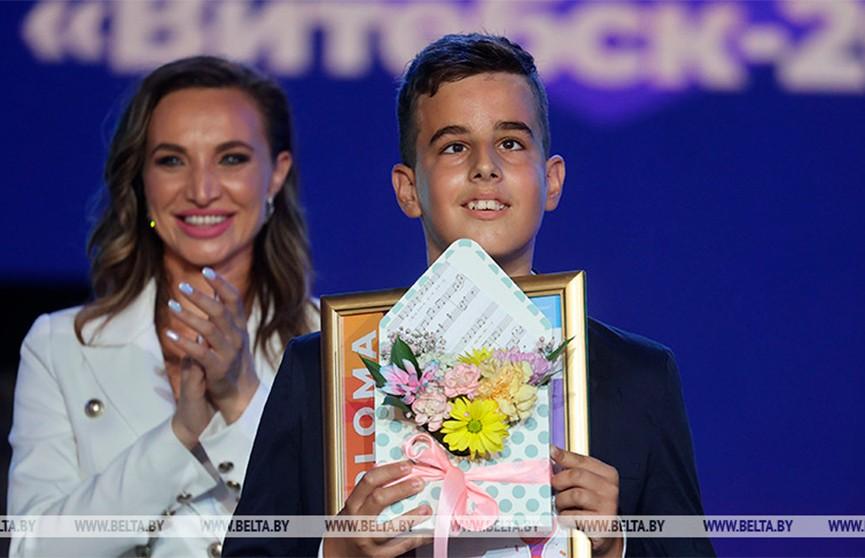 Гран-при детского конкурса «Славянского базара» завоевал Комнен Вукович из Черногории