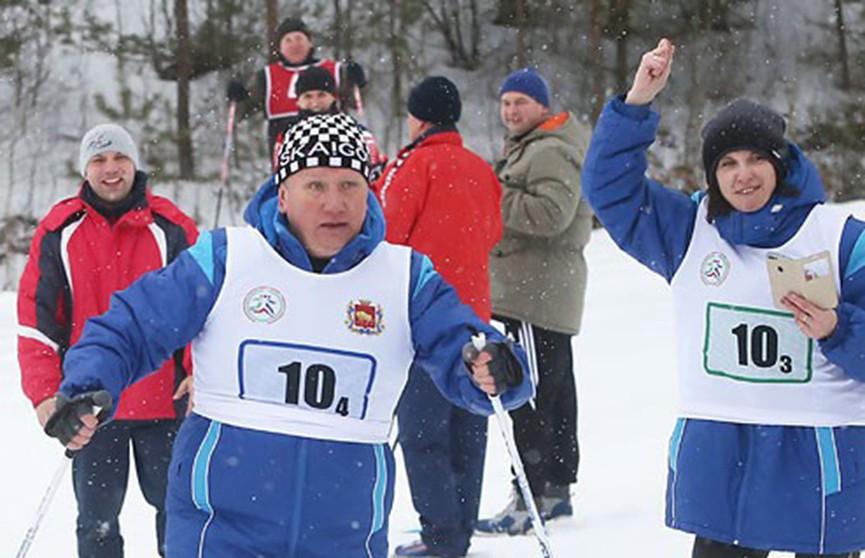 «Гродненская лыжня – 2019» собрала в Новогрудке около 120 участников